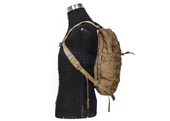 Tactical Hydration Backpack MOLLE Attachable ( Tan )