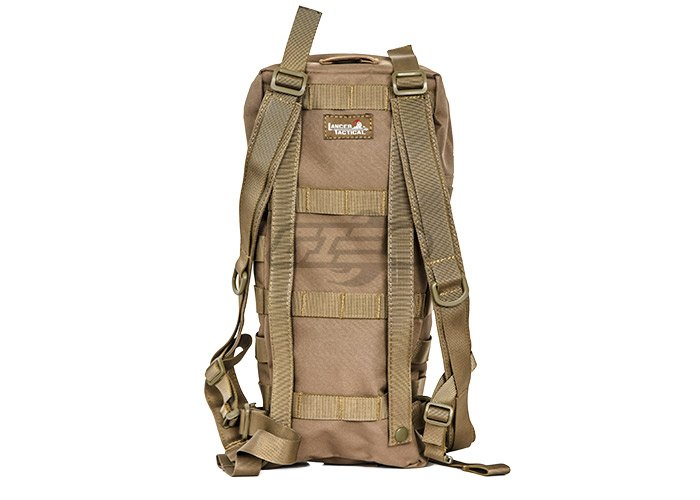 184768c28ff Lancer Tactical Hydration Backpack MOLLE Attachable (Tan)