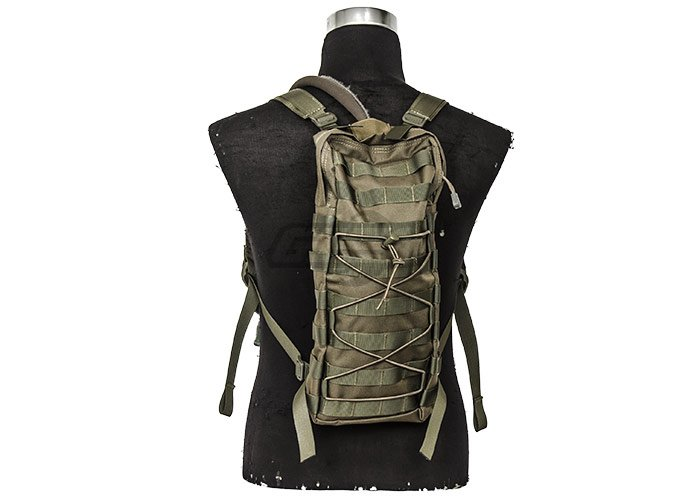 Tactical Hydration Backpack MOLLE Attachable ( OD Green )