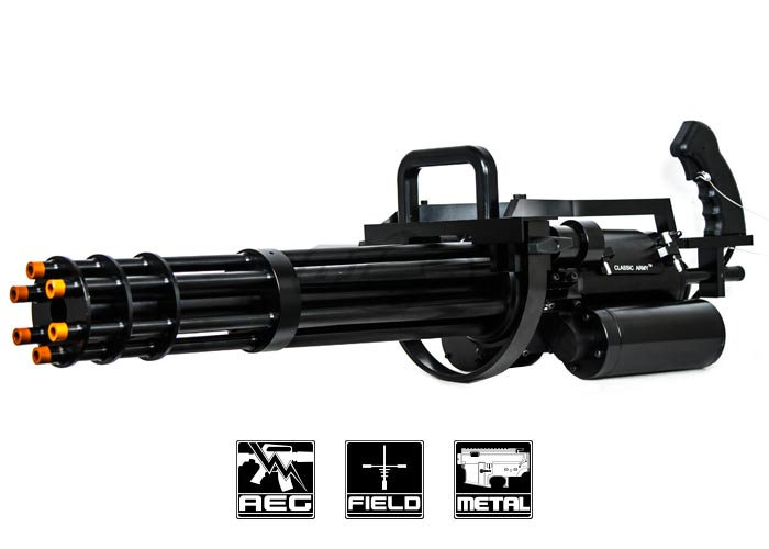 Classic Army M134 A2 Airsoft Minigun Factory Direct 10 Available