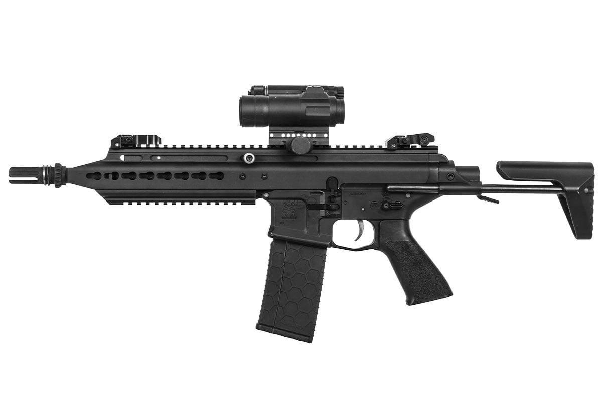 Classic Army Scarab SAR Carbine AEG Airsoft Gun ( Black )