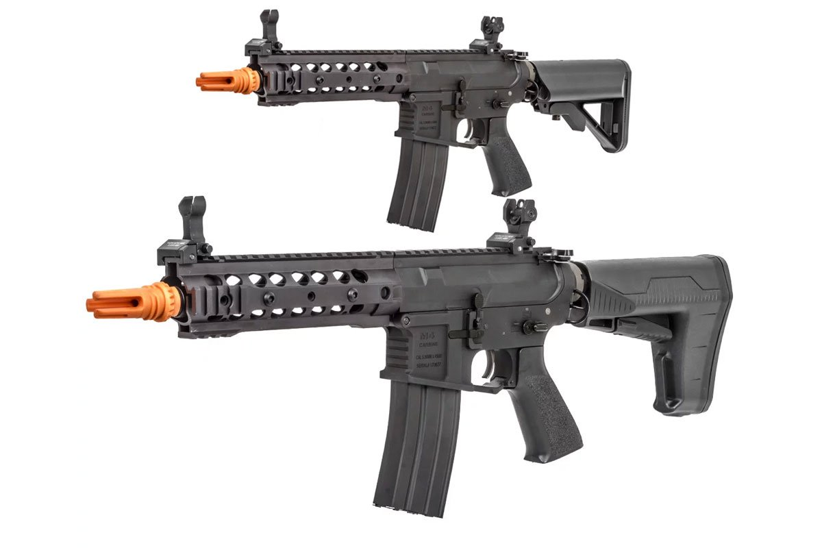 Classic Army M4 ARS3-8 Modular Rail Carbine AEG Airsoft Rifle (Option)