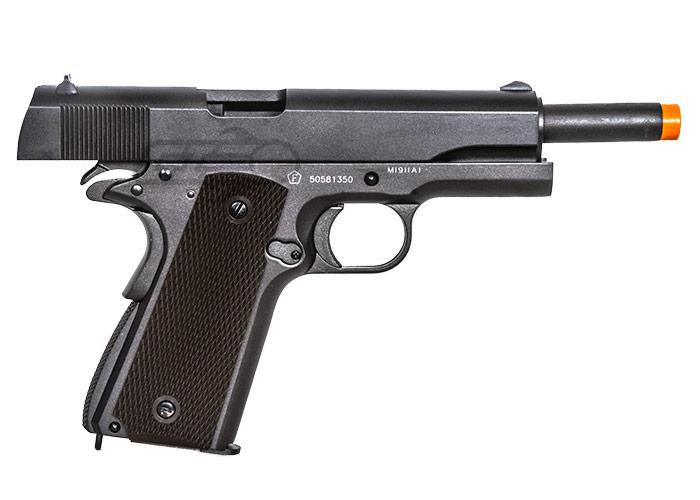Colt 1911A1 Blowback CO2 Airsoft Pistol (Black)