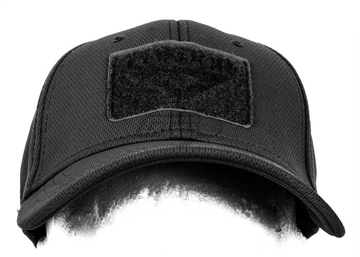 Condor Outdoor Flex Velcro Tactical Cap (Black/L - XL)