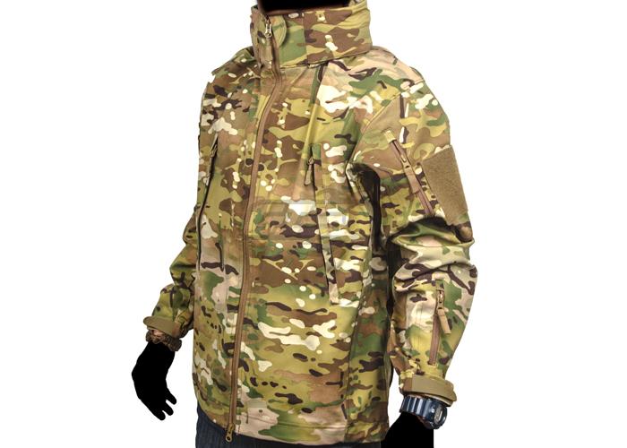 Grenade Shell Jacket Shell Jacket Multicam