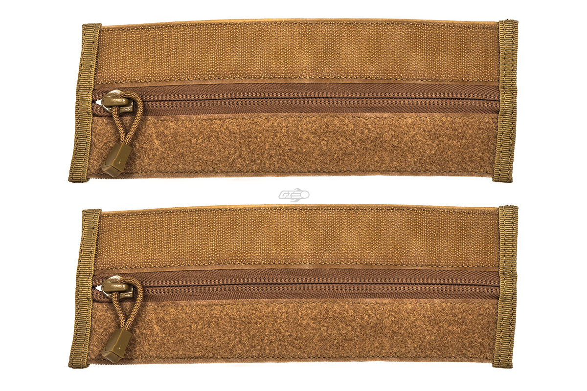 Condor Outdoor Vanquish VAS Zipper Strip 2 Pack (Coyote)