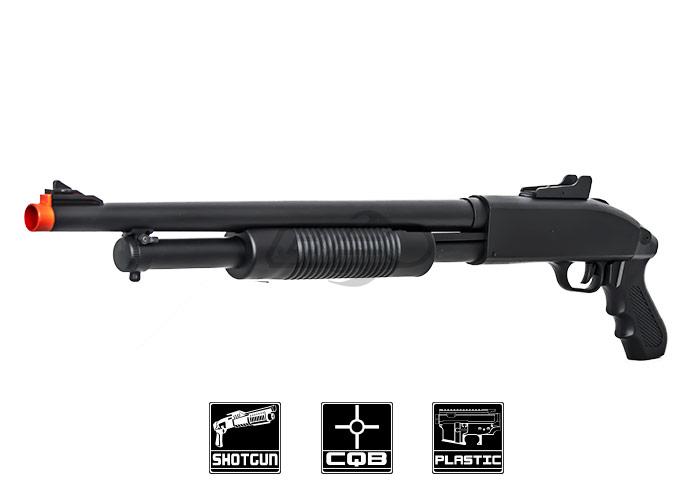 cyma zm61 spring shotgun with pistol grip