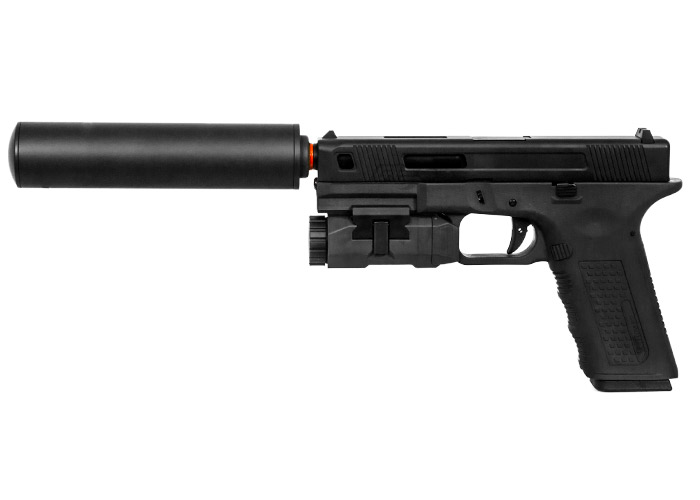 Echo 1 Lone Wolf Timberwolf Xtreme Gas Blow Back Pistol Airsoft Gun (Multiple Colors)