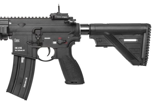 Elite Force H&K 416-A5 CQB AEG Airsoft Rifle by VFC (Black)