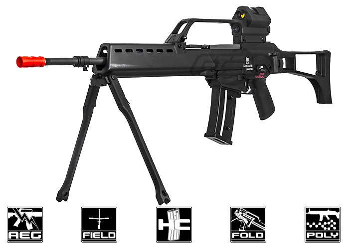 Elite Force H&K G36 AEG Rifle Airsoft Rifle ( Black )