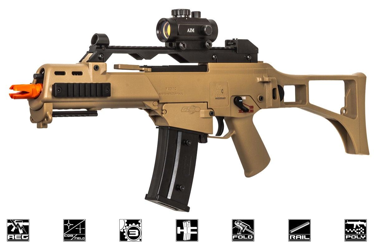 Elite Force H&K G36C Sportline AEG Airsoft Rifle (Tan)