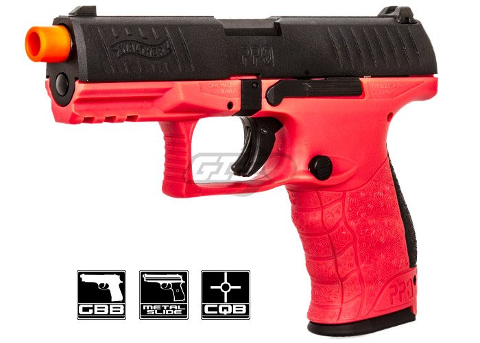Elite Force Walther PPQ MOD 2 Green Gas Airsoft 22 Round