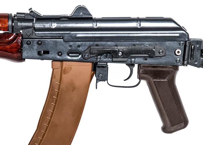 eampl airsoft ak74u a104 carbine aeg airsoft rifle wood