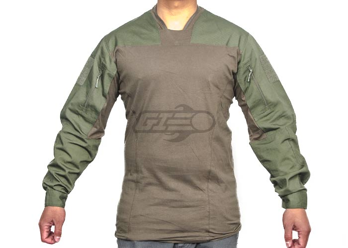 Emerson TL LEAF Combat Shirt By Lancer Tactical (OD/SM)
