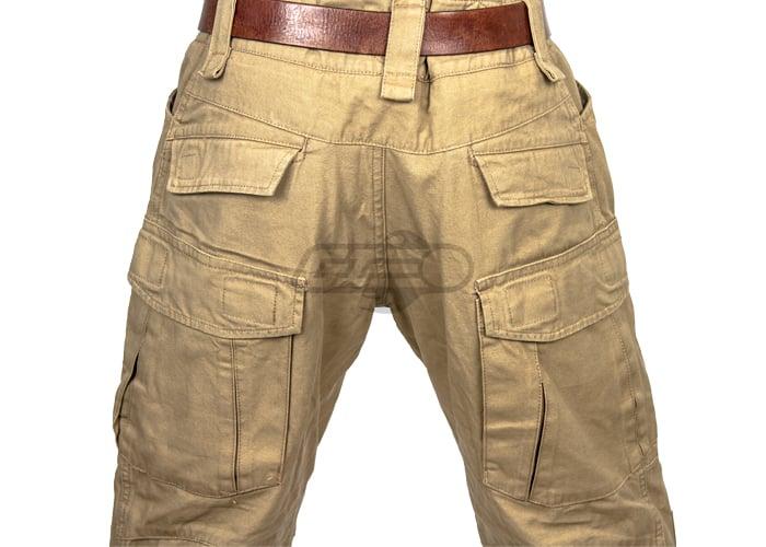 Tan combat pants