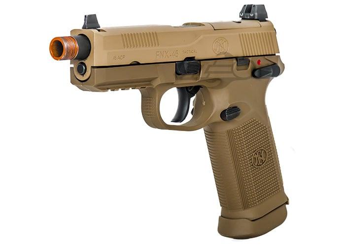 Fn Herstal Fnx 45 Tactical Gbb Airsoft Pistol Dark Earth