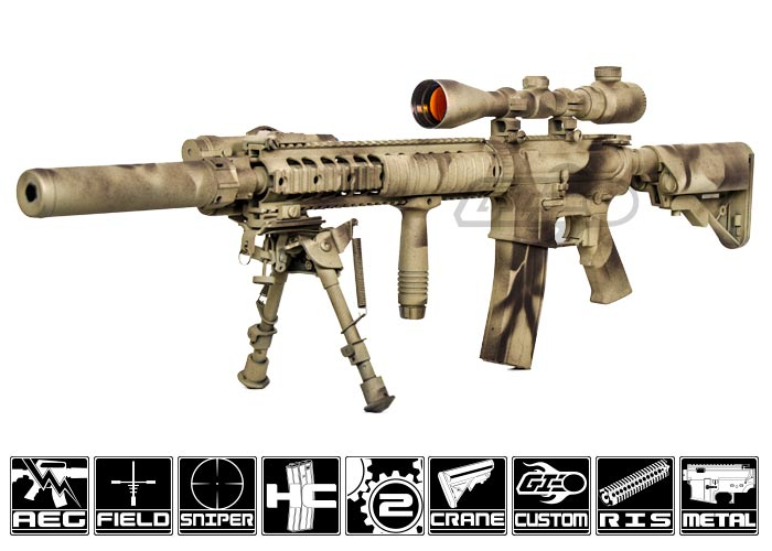 Airsoft Gi Lone Survivor Matthew Axelson Spr Airsoft Gun