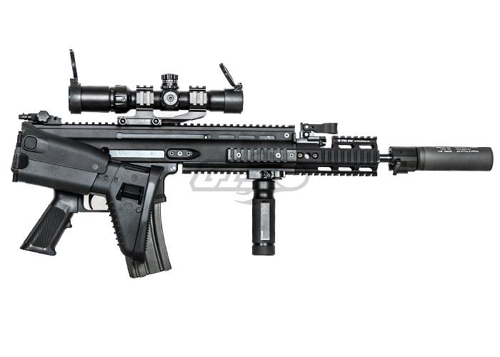 Full Metal SCAR-H MK17 SSR AEG Airsoft Gun ( Tan )