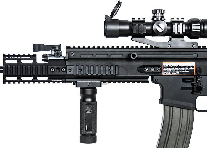 VFC Full Metal FN Herstal SCAR-H MK17 CQC AEG Airsoft Gun ( Black )