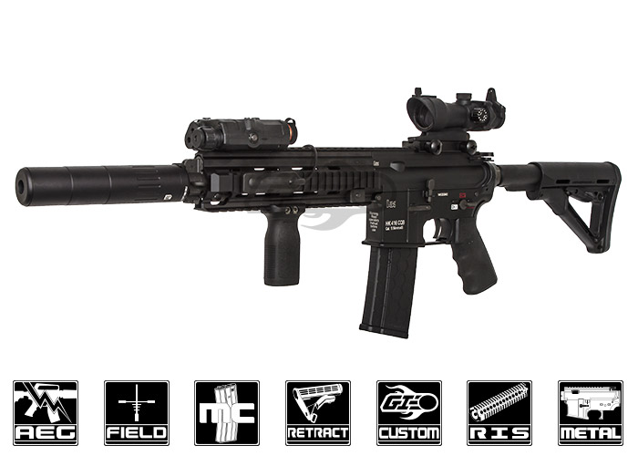 Airsoft Gi Extreme Custom Armory 416 Black On Black Aeg Airsoft