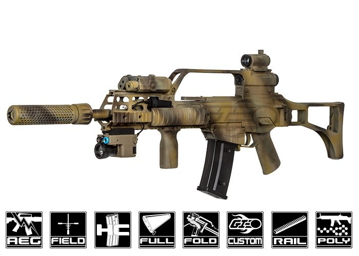 Airsoft GI Custom G36 KSK Der Geistertreiber AEG Airsoft Rifle