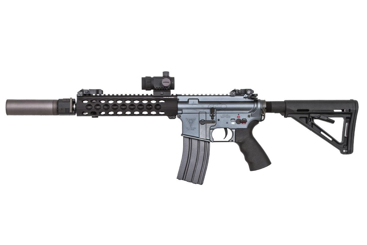 Airsoft GI Custom M4 Grey Ghost AEG Airsoft Gun