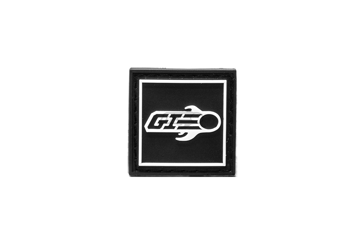 Airsoft GI Ranger Eye PVC Patch Velcro ( Black / White )
