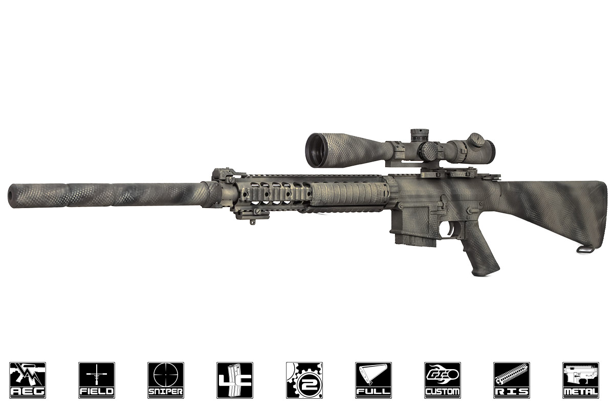 Airsoft Gi Custom Sr 25 Ether Aeg Airsoft Rifle