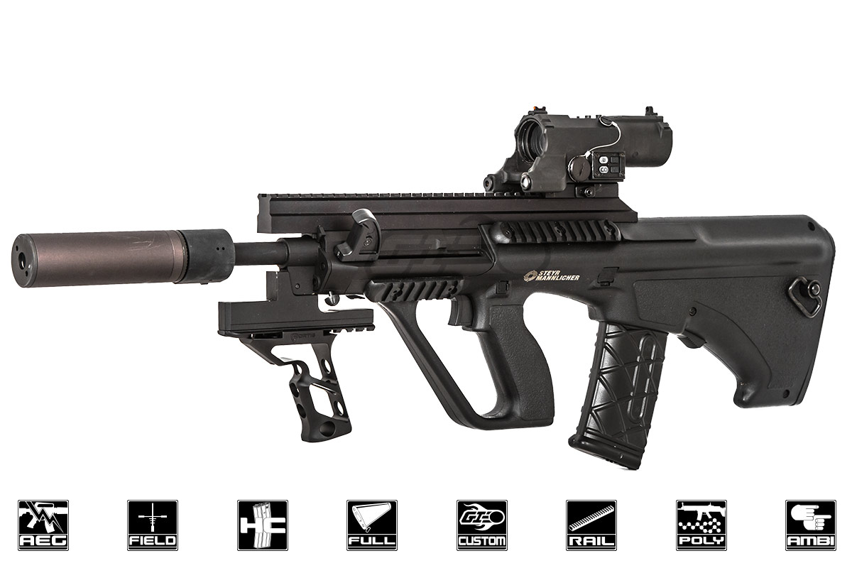 Airsoft Gi Custom Invader Aeg Airsoft Rifle