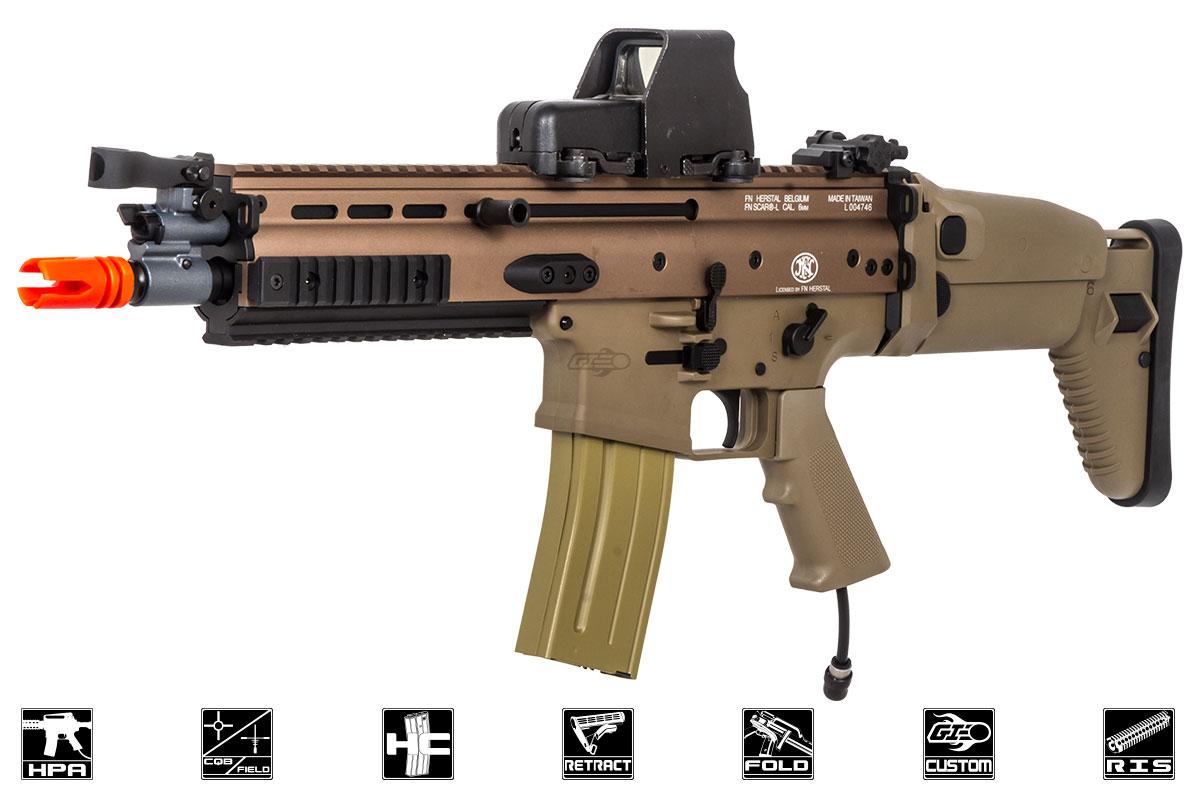 Jacked&quot- MK16 VFC Airsoft GI Custom HPA Gun (DE)