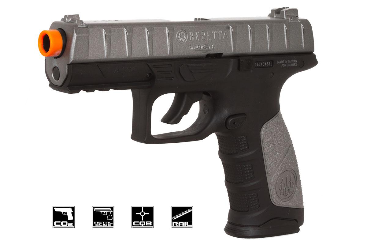 Elite Force Beretta APX CO2 Blowback Airsoft Pistol (Black/Gray)