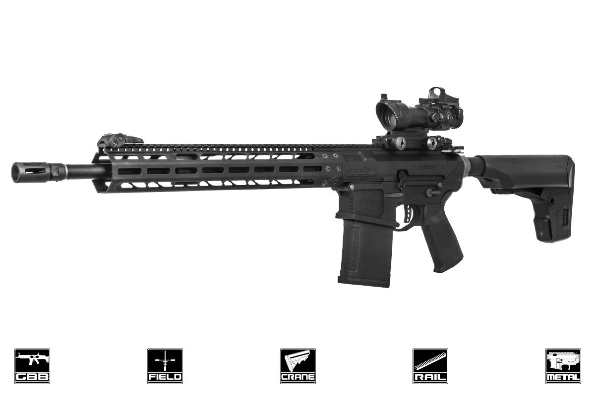 PTS Mega Arms MML MATEN M-LOK Rifle GBB Airsoft Gun (Black)