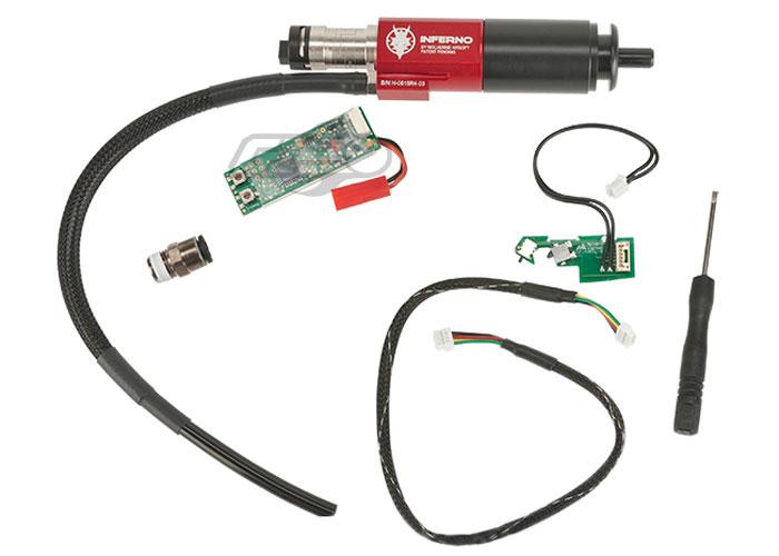 69a65b07773 Wolverine Airsoft INFERNO Gen 2 Ver. 3 AK Cylinder w/ Premium Edition  Electronics