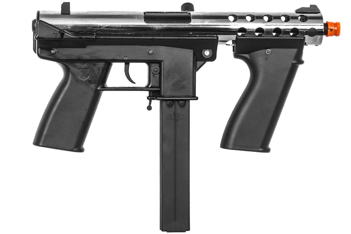 Echo 1 GAT (General Assault Tool) AEG Airsoft SMG (Chrome)