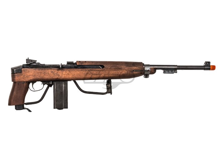 Airsoft M1 Carbine Paratrooper King arms m1a1 paratrooper real wood
