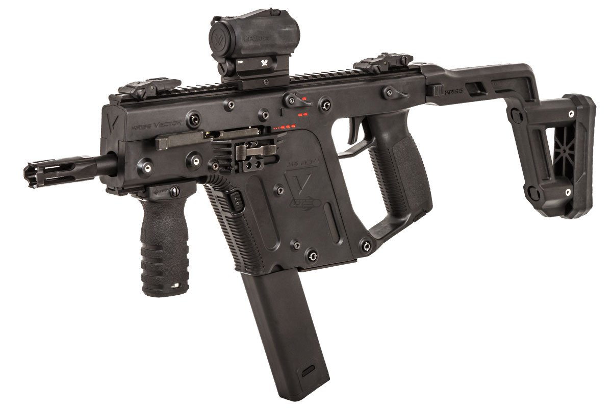 Krytac Kriss Vector Aeg Airsoft Smg Black