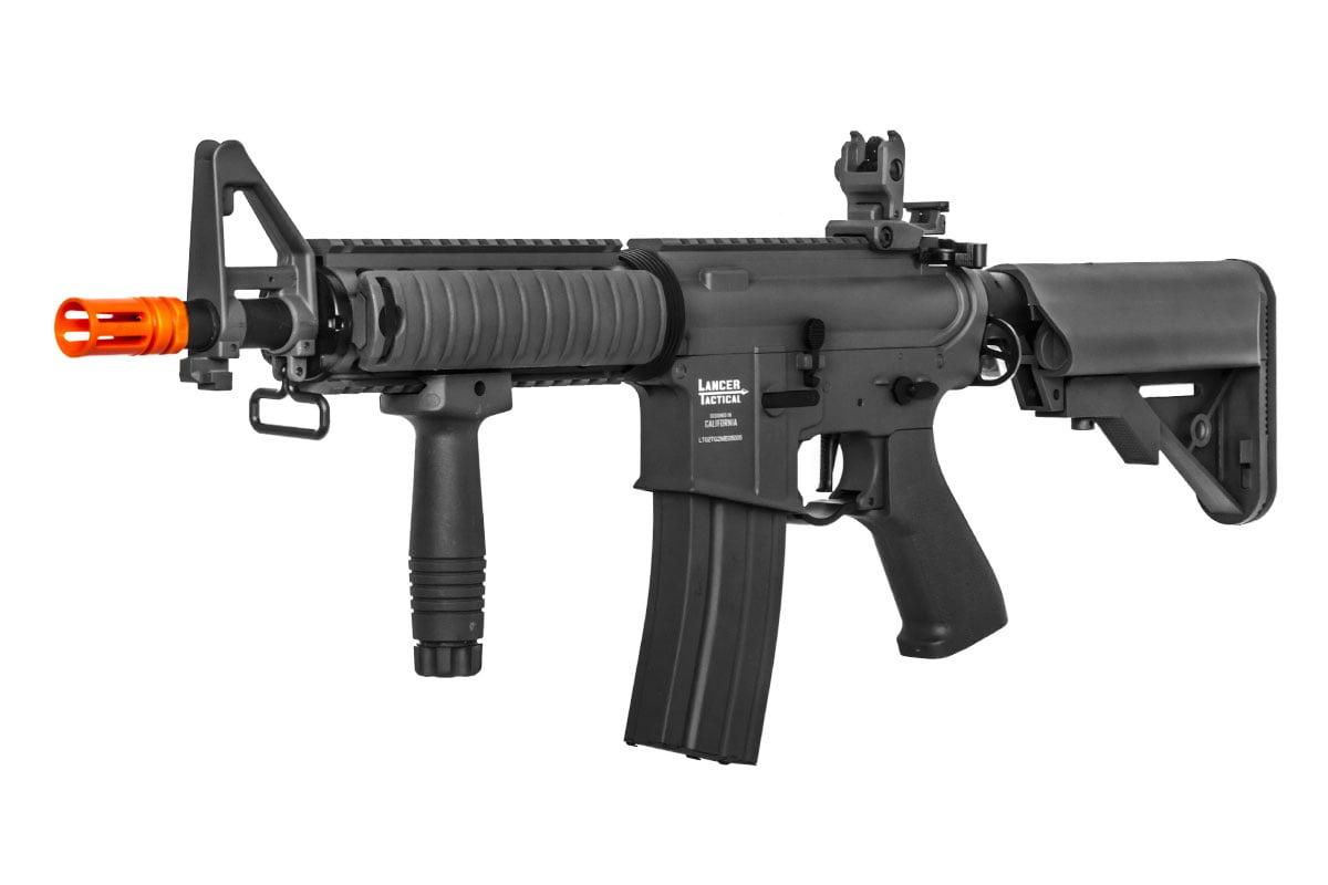 Lancer Tactical LT-02 Gen2 M4 Full Metal AEG Airsoft Rifle (Black)