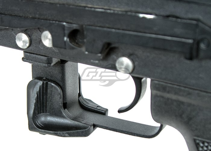 Lancer Tactical AK47 Polymer Magazine Release Extension (Black)