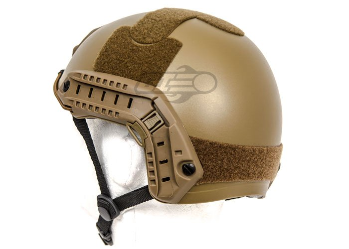 Lancer Tactical Helmet PJ Type w// Retractable Visor Dark Earth//Basic Version