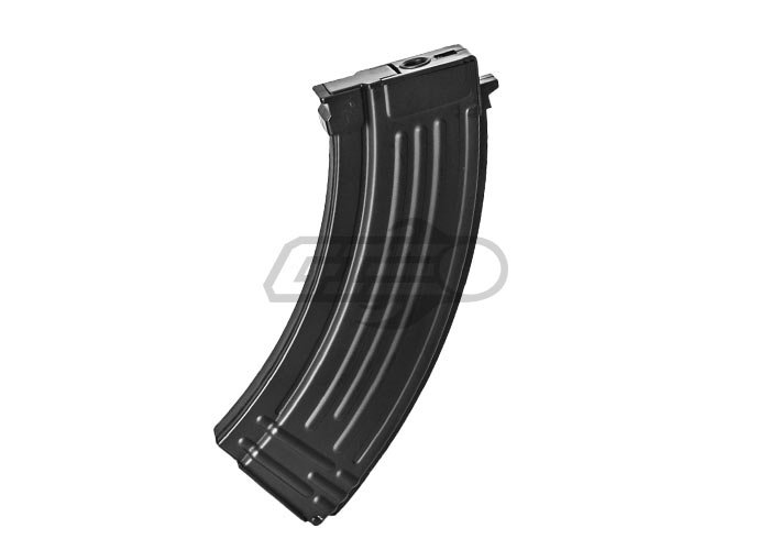 Lancer Tactical High Capacity Flash Magazine for AK-47 Series AEG (Black)