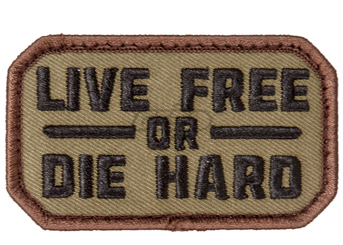 d85b88d4 Mil-Spec Monkey Live Free or Die Hard Patch ( Forest )