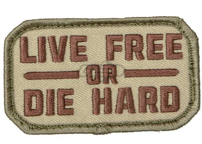7b73a020 Mil-Spec Monkey Live Free or Die Hard Patch ( Multicam )