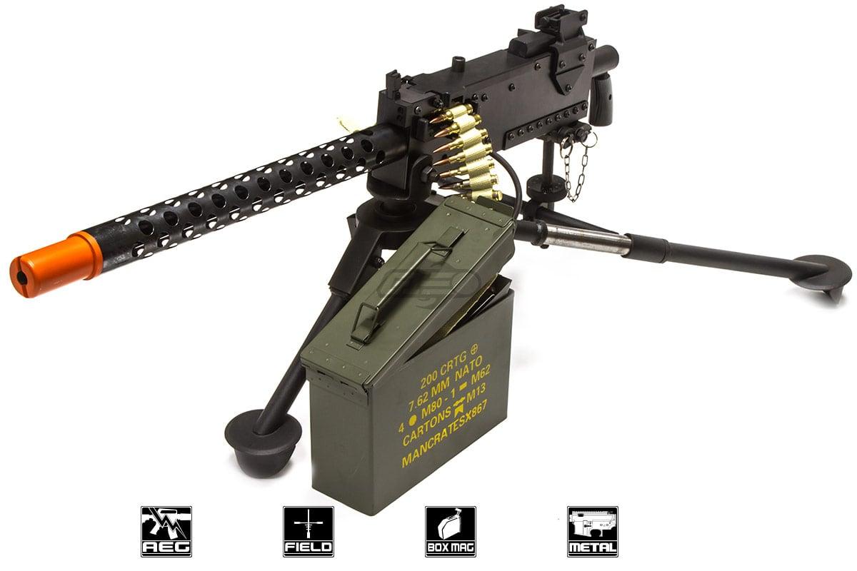 RWA M1919 Machine Gun LMG AEG Airsoft Gun ( Black )