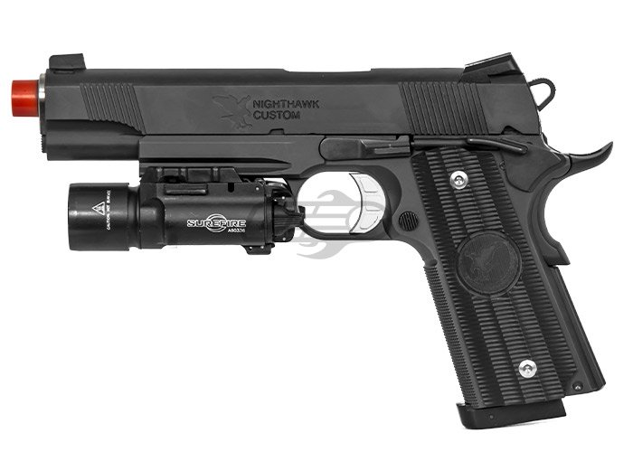 RWA Nighthawk GRP Recon 1911 CO2 CNC GBB Airsoft Pistol Limited ...