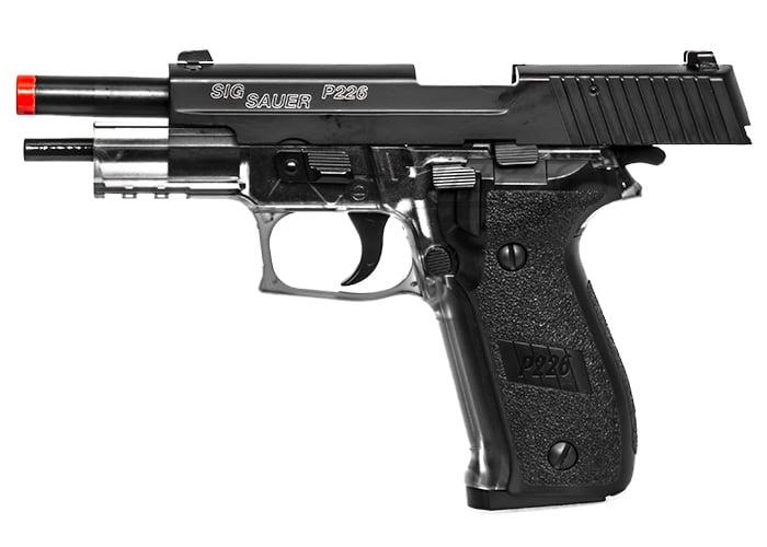 Sig Sauer P226 GBB Airsoft Pistol Gun ( Metal Slide )