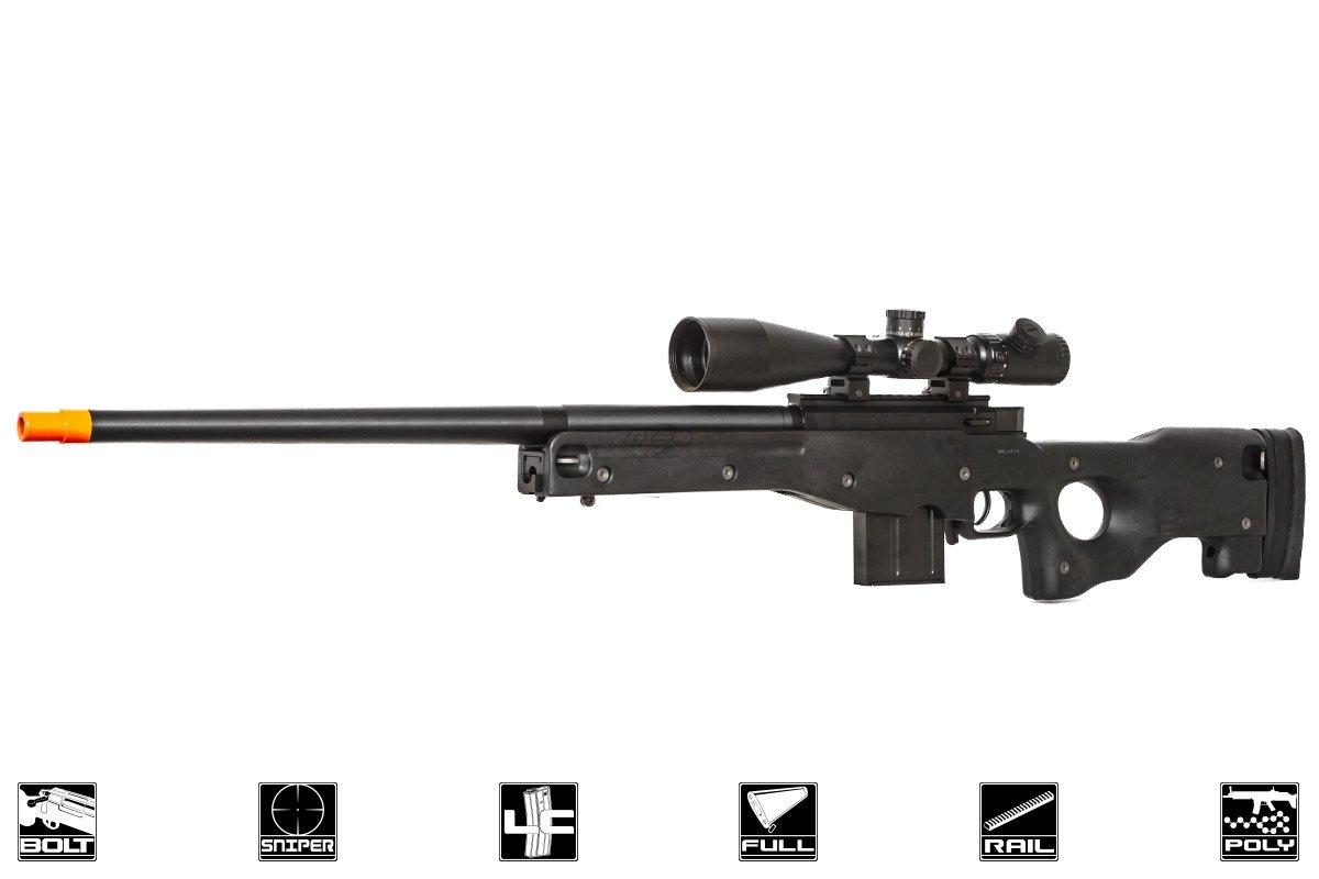 how to make a spring airsoft sniper rifle