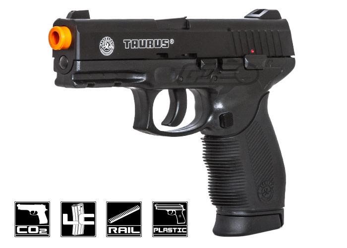 Taurus PT 24/7 Co2 Airsoft Pistol (Black)