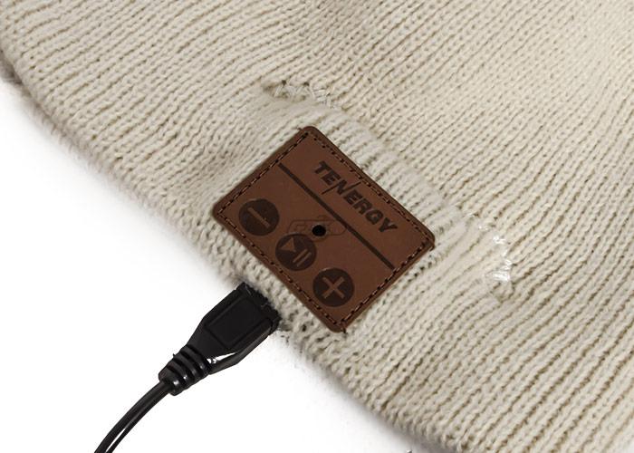 Tenergy Bluetooth Beanie Basic Knit ( Cream ) 5d0e08d1570