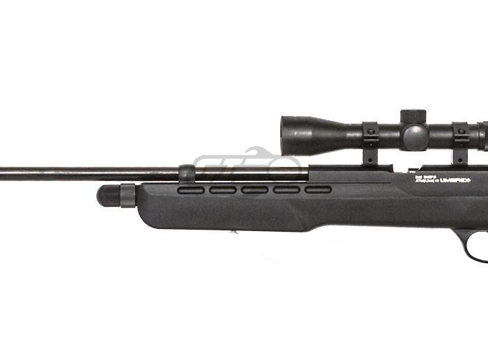 Umarex Fusion  177/4 5mm CO2 Pellet Rifle Airgun (Black)