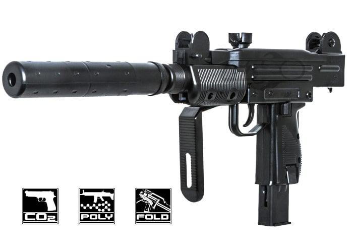 Umarex Mini Uzi  177/4 5mm CO2 Blowback Airgun (Black)
